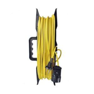 Удлинитель-шнур на рамке ТМ Союз 2200 Вт с заземляющим контактом 20м
