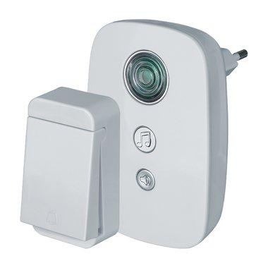 Звонок электрический Navigator NDB-D-AC01-1V1-WH