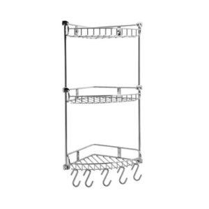 Полка металлическая тройная угловая WasserKRAFT К-1233