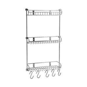 Полка металлическая тройная прямая WasserKRAFT К-1433