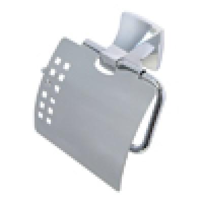 Держатель туалетной бумаги с крышкой WasserKRAFT Wern К-2525