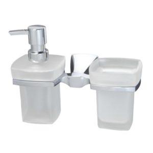 Держатель стакана и дозатора WasserKRAFT Wern К-2589