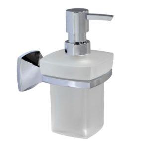 Дозатор для жидкого мыла стеклянный 230 ml WasserKRAFT Wern К-2599