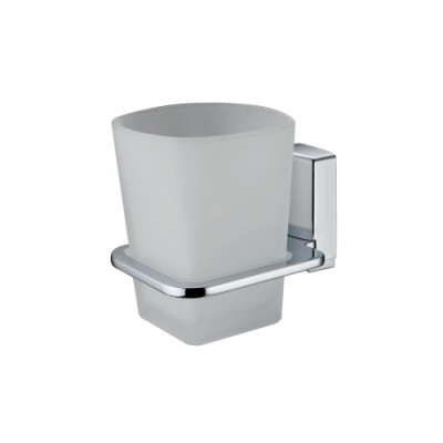Стакан для зубных щеток стеклянный WasserKRAFT Leine К-5028