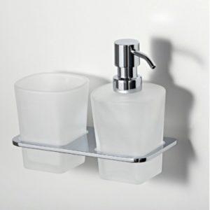 Держатель стакана и дозатора WasserKRAFT Leine К-5089