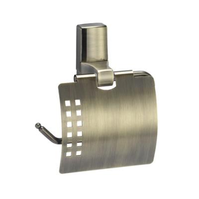 Держатель туалетной бумаги с крышкой WasserKRAFT Exter К-5225