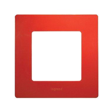 Legrand Etika 672531 Рамка 1 пост красный