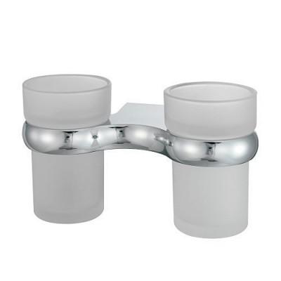 Подстаканник двойной стеклянный WasserKRAFT К-6828D