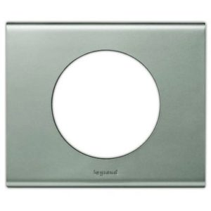 Legrand 69111 Рамка 1 пост никель велюр