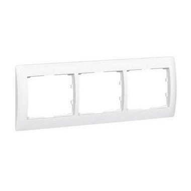 Legrand Galea Life 771003 Рамка горизонтальная 3 поста белый