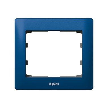 Legrand 771911 Рамка 1 пост синий
