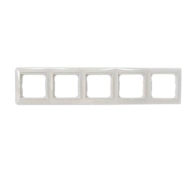 Legrand 774455 Рамка Valena 5 постов горизонтальный монтаж белый