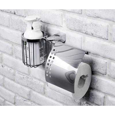 Держатель туалетной бумаги и освежителя WasserKRAFT Kammel К-8359