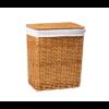 Плетеная корзина для белья с крышкой WasserKRAFT Ammer WB-370-L