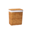 Плетеная корзина для белья с крышкой WasserKRAFT Ammer WB-370-M