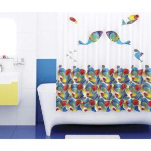 Шторка для ванной WasserKRAFT Berkel SC-68101