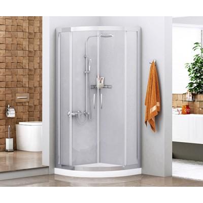Душевой уголок сектор с раздвижными дверьми WasserKRAFT Isen 26S00