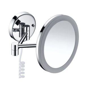 Зеркало с LED-подсветкой 3-х кратным увеличением WasserKRAFT K-1004