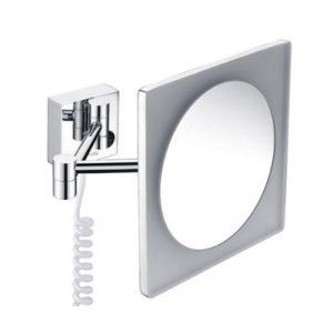Зеркало с LED-подсветкой 3-х кратным увеличением WasserKRAFT K-1008