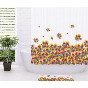 Шторка для ванной WasserKRAFT Leine SC-50101