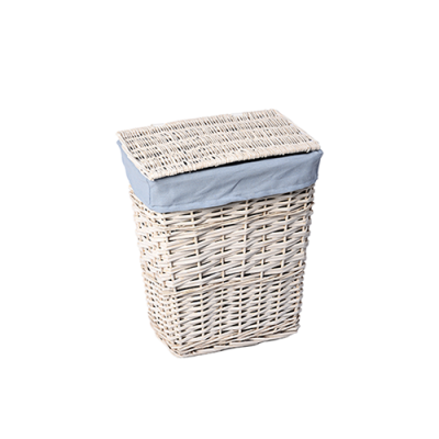 Плетеные корзины для белья с крышкой WasserKRAFT Lippe WB-450-L