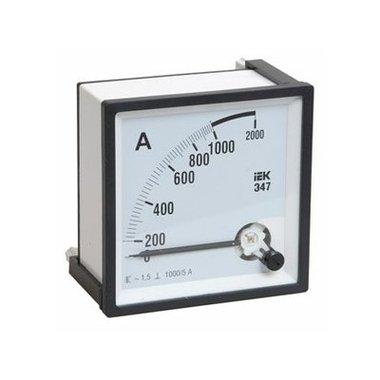 Амперметр Э47 1000/5А класс точности 1,5 96х96мм ИЭК