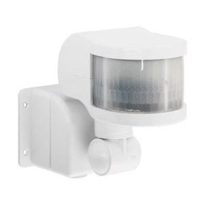 Датчик движения инфракрасный ДД-018-W 1200Вт 270 градусов 12м, IP44 белый ASD