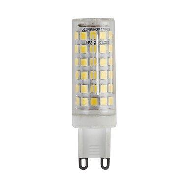 Лампа светодиодная ЭРА LED JCD-9W-CER-827-G9 (кукуруза кер., капсюль, 9Вт, 220В, тепл, G9)