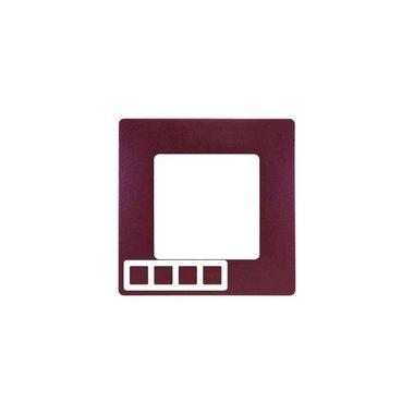 Legrand 672564 Рамка 4 поста сливовый