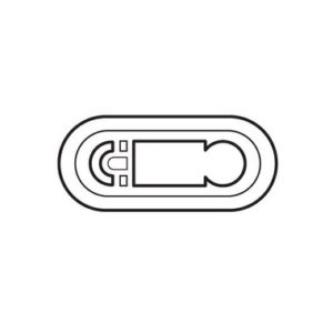 Legrand 68242 Лицевая панель программируемого термостата белый