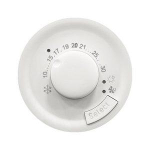 Legrand 68245 Лицевая панель термостата комнатного PLC Лицевая белый