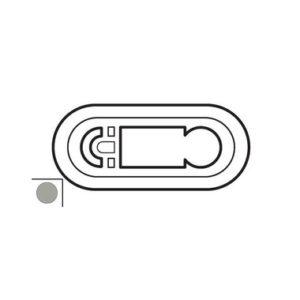 Legrand 68542 Лицевая панель программируемого термостата титан