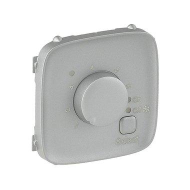 Legrand Valena Allure 755327 Лицевая панель термостата с датчиком для теплых полов алюминий