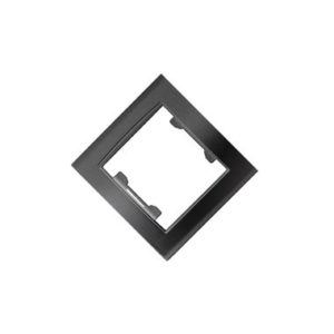 Рамка 1-но местная UNIVersal Бриллиант, цвет черный