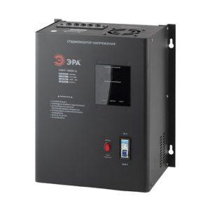 СННТ-10000-Ц ЭРА Стабилизатор напряжения настенный, ц.д., 140-260В/220/В, 10000ВА (1)