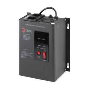 СННТ-1500-Ц ЭРА Стабилизатор напряжения настенный, ц.д., 140-260В/220/В, 1500ВА (4)