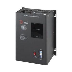 СННТ-5000-Ц ЭРА Стабилизатор напряжения настенный, ц.д., 140-260В/220/В, 5000ВА (1)