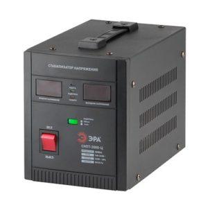 СНПТ-2000-Ц ЭРА Стабилизатор напряжения переносной, ц.д., 140-260В/220/В, 2000ВА (4)