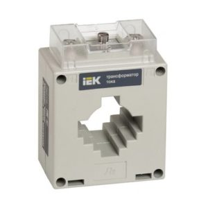 Трансформатор тока ТШП-0,66 300/5А 5ВА класс 0,5S габарит 30 ИЭК