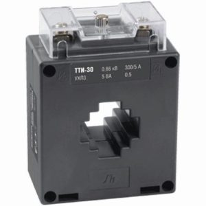 Трансформатор тока ТТИ-30 200/5А 10ВА класс 0,5 ИЭК