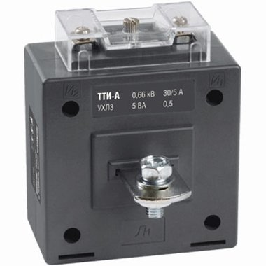 Трансформатор тока ТТИ-А 300/5А 10ВА класс 0,5 ИЭК