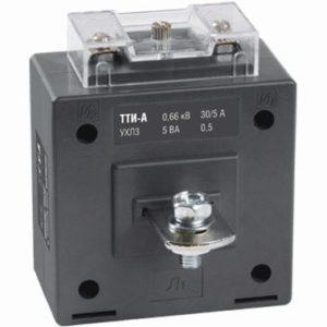 Трансформатор тока ТТИ-А 75/5А 5ВА класс 0,5S ИЭК