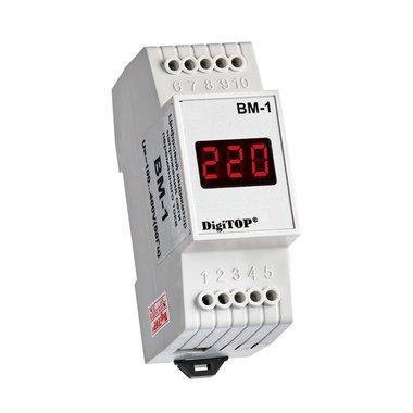 ВМ-1, цифровой вольтметр DigiTop, 40 - 400V AC