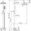 Душевой комплект со смесителем для душа WasserKRAFT A17701 25111