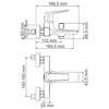 Смеситель для ванны с коротким изливом WasserKRAFT Neime 1901 24559