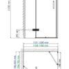 Душевой уголок WasserKRAFT Aller 10H06LBLACK MATT 24828