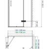Душевой уголок WasserKRAFT Aller 10H07RBLACK MATT 24836