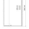Душевая дверь WasserKRAFT Berkel 48P12 24852