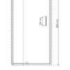 Душевая дверь WasserKRAFT Berkel 48P27 24860