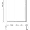 Душевая дверь WasserKRAFT Main 41S05 24613